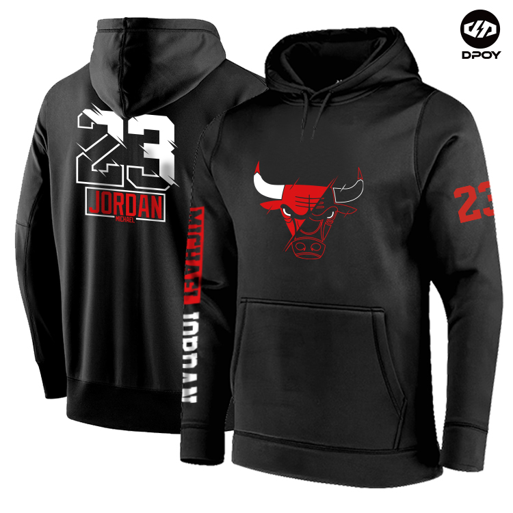 Basketball Hoodies Michael Jordan Hiphop Sports Cotton Chicago Brand Street-Style Autumn