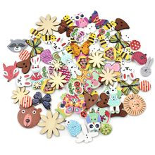 20 шт деревянные пуговицы для рукоделия, аксессуары для скрапбукинга, декорации, botones de madera para manualidades