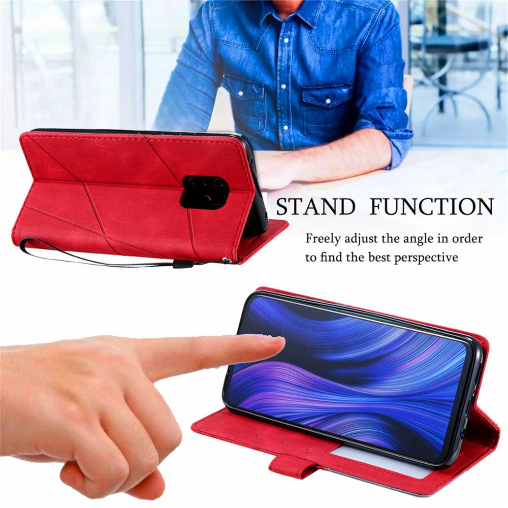Leather Flip S7 S8 S9 Plus S10 S20 Ultra Case For Samsung Galaxy A6 A7 A8 J6 2018 A5 J3 J5 J7 2017 Note 8 9 10 Lite Wallet Cover