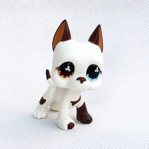 Image 4 - Lps Kat Rare Animal Pet Shop Speelgoed Stands Hond Teckel Collie Cocker Spaniel Grote Deen Husky Oude Originele Figure Collection