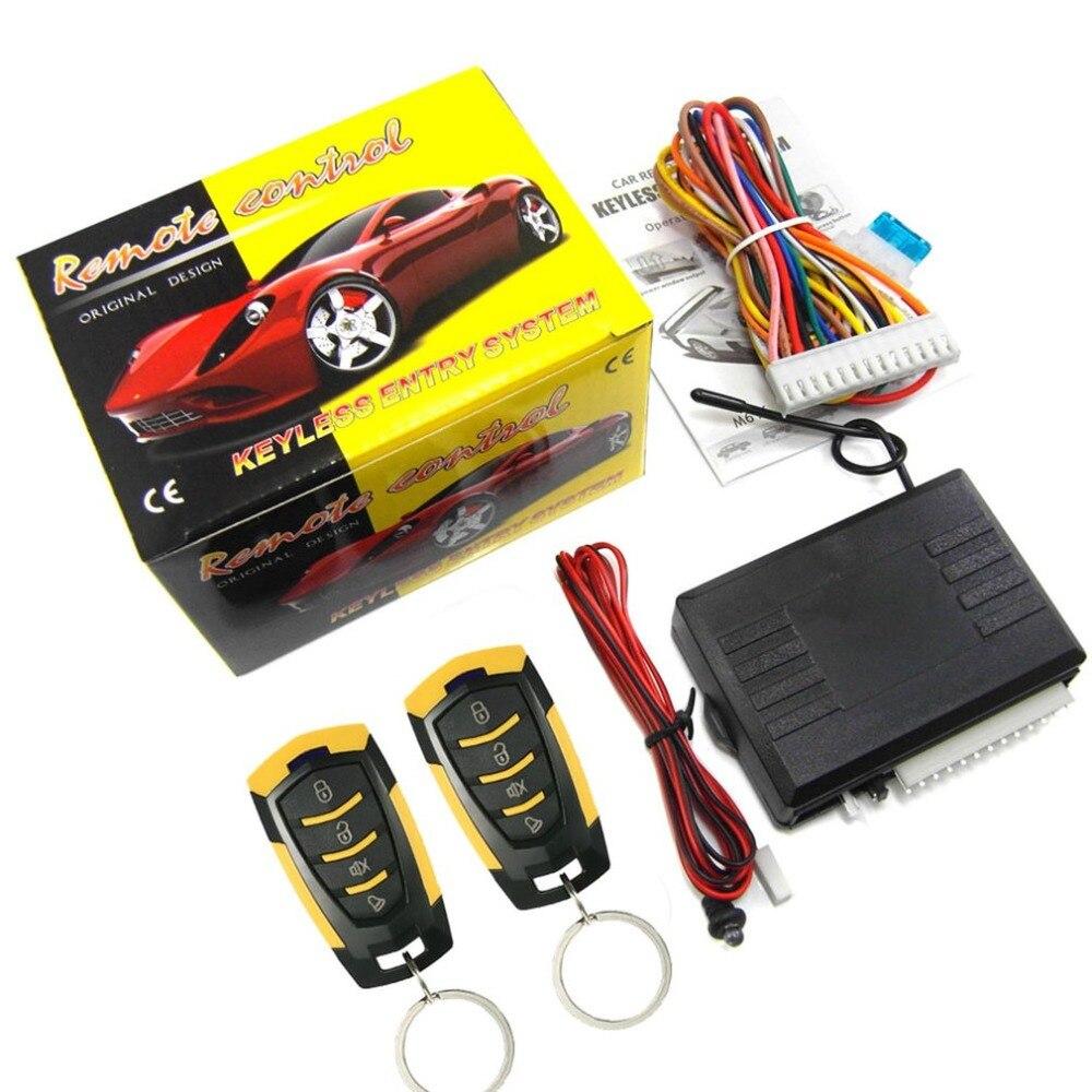 M616-8182 samochód zdalnego sterowania centralnego zamka urządzenie alarmowe z silnikiem System