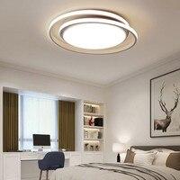Diameter450/550mm moderno led lustre para sala de estar quarto master room branco ou preto cor moderna lustre teto