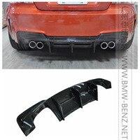 E82 Auto Styling Hinten Lip Diffusor BumperSpoiler für BMW E82 1 Serie 1M Nur Carbon Faser-in Stoßstangen aus Kraftfahrzeuge und Motorräder bei