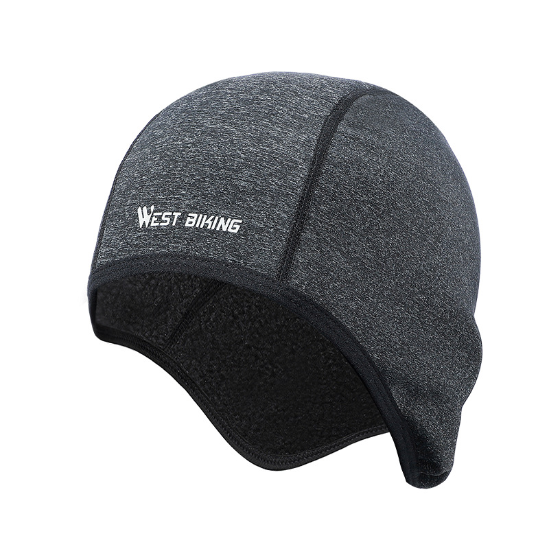 Men Winter Hat Cycling Caps Windproof Warm Fleece Bike Hat Beanies Skullies Outdoor Balaclava Skiing Snowboard Helmet Liner Cap