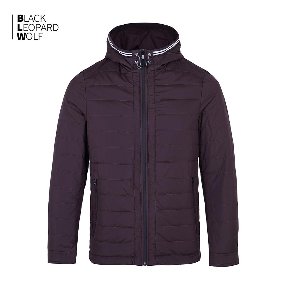 Blackleopardwolf 2019 New Arrival Spring Down Jacket High Quality Thick Cotton Balck Color Duck Down Jacket Spring Coat ZC-C5612