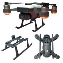 Посадочная Шестерня для DJI Spark Drone, 3 см, высота, удлинитель, ноги, светильник, вес, быстросъемные защитные части для ног, защитный аксессуар