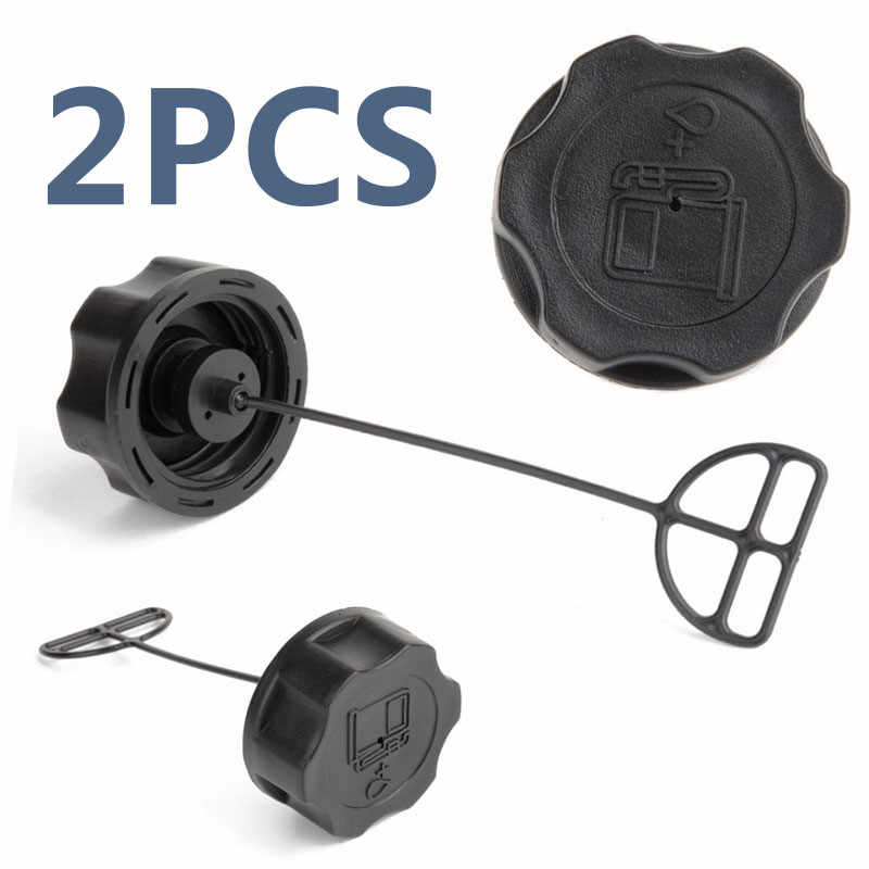 1/2 Pcs Fuel Tank Cap Strimmer Hedge Trimmer Brush Cutter Mesin Pemotong Rumput Bagian 43cc 49cc 52cc 55cc Honda GX22 GX25 GX31 GX35 Mesin