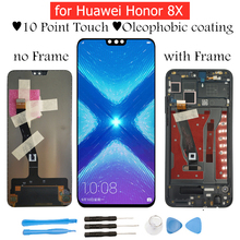 "6.5 ""Huawei 社の名誉 8X Lcd ディスプレイタッチスクリーンデジタイザアセンブリ Lcd ディスプレイのための名誉 8X 修理部品"