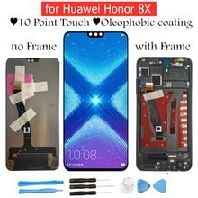 """6.5 """"per Huawei Honor 8X Display LCD Touch Screen Digitizer Assembly Display LCD TouchScreen per Honor 8X Parti di Riparazione"""