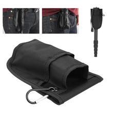 DSLR 카메라 모노 포드 삼각대를 지원하기위한 루프가있는 휴대용 방수 삼각대 허리 가방 파우치 포켓 케이스 팩