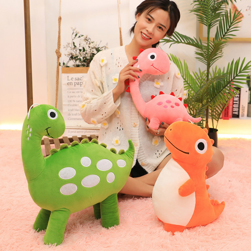 KUY New 30/40/50cm Cute Plush Dinosaur Toys Kawaii Dinosaur Plush Stuffed Animals Doll Stuffing Toy For Boy Kids Birthday Gift