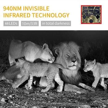 PR300C Wifi Hunting Camera 24MP Wildlife Trail Camera PIR Infrared Night Vision Wireless APP Surveillance Scouting Photo Traps 3