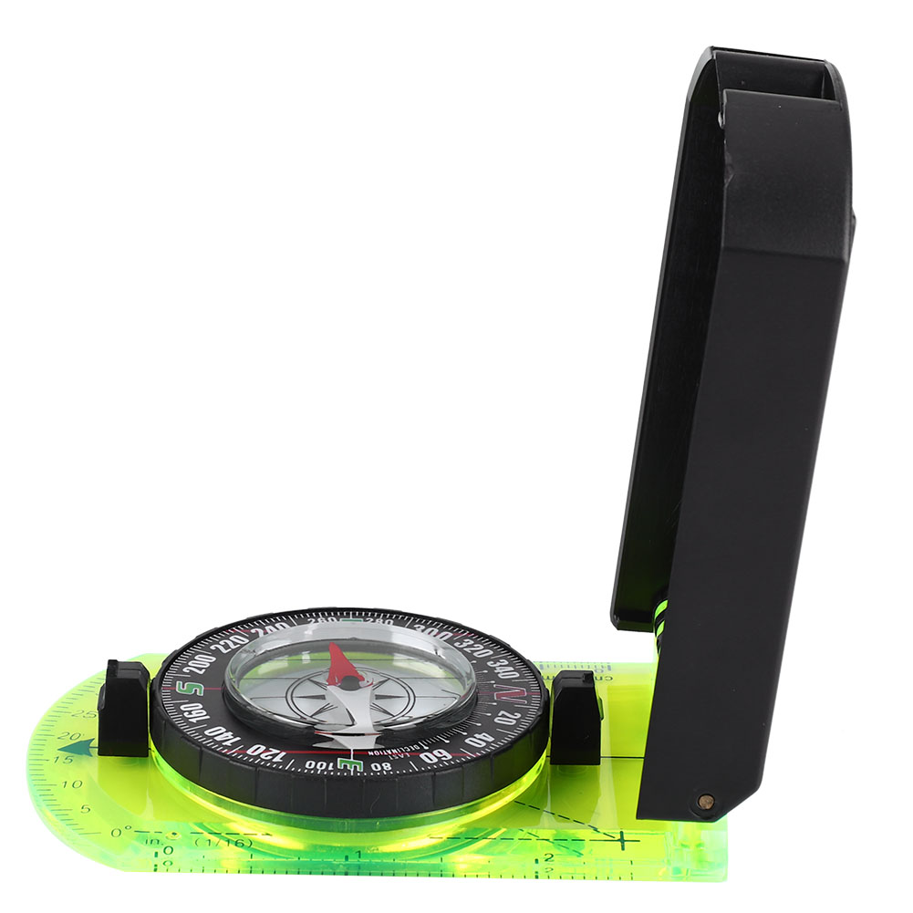 Stainless Steel 0-360 Degrees Hiking Gear Compasses & GPS High Precision Magnetic Pocket Transit Geological Compass Scale