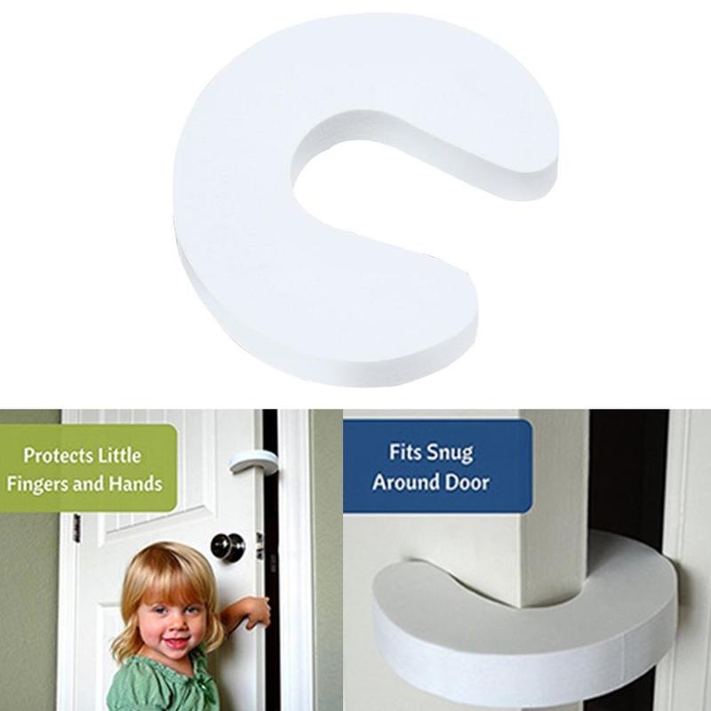 Safety Finger Pinch Guard Prevent Baby Finger Pinch Injuries Door Stopper Guard And Child Or Pet From Getting Locked In Room