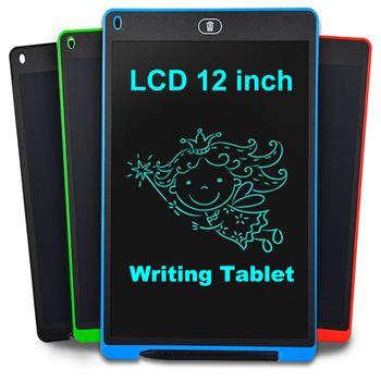 Tablet graficzny elektroniki Tablet graficzny inteligentny Tablet do pisania lcd kasowalna tablica do pisania 8 5 12 Cal podświetlana podkładka pismo ręczne pióro tanie i dobre opinie EASYIDEA 1024 Graficzny Tabletki 1016lpi 1920x1080 282mm Drawing Tablet Cyfrowy tabletki 186mm lcd writing tablet Black Red Blue Green