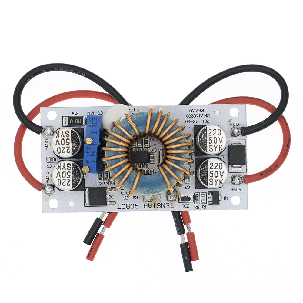 TENSTAR ROBOT 1pcs DC-DC Boost Converter Constant Current Mobile Power Supply 10A 250W LED Driver Step Up Module