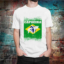 Capoeira Brazillian Summer Unisex T Shirt Harajuku Men's Tshirt Print Short Sleeve T-Shirt Streetwear Women Tops Tees(China)