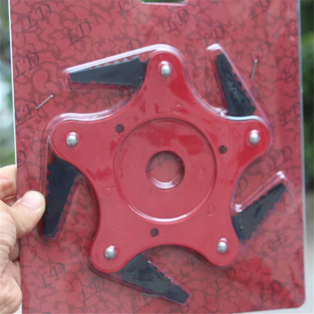 Газонокосилка 5 зубцов диск для резания триммер металлические лезвия Триммер головка садовый электротриммер головка для газонокосилки гаджеты для дома