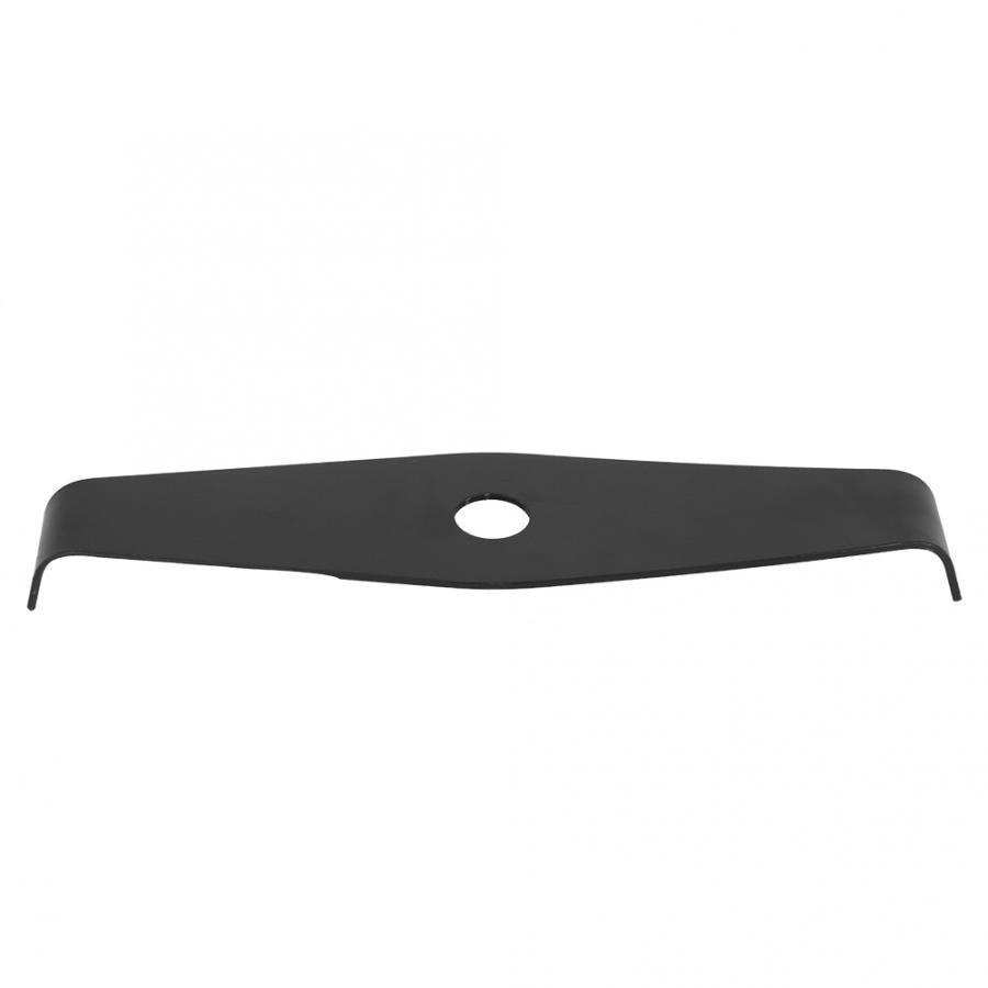 Manganês aço cortador de escova 2 lâmina dente cortador de grama lâmina de corte acessórios substituição ferramenta jardim