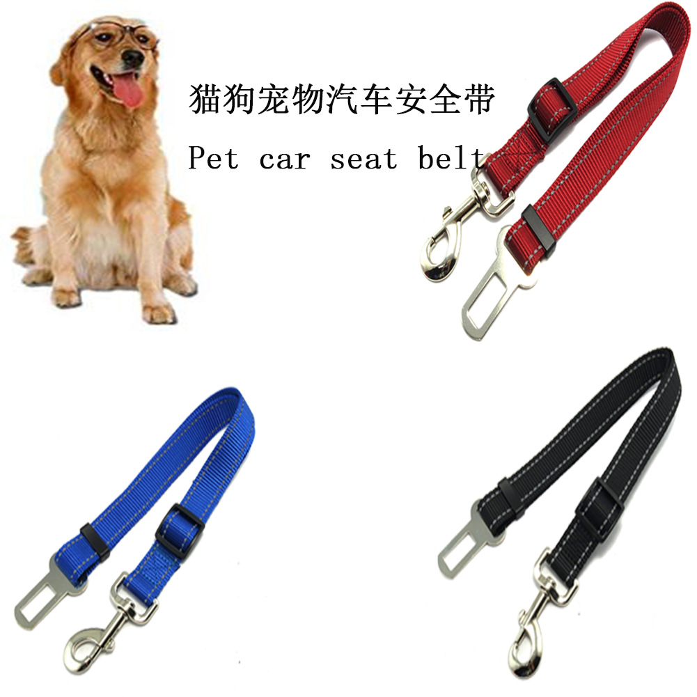 Hot Selling Reflective Pet Dog Cat Automobile Safety Belt Puppy Pet Supplies