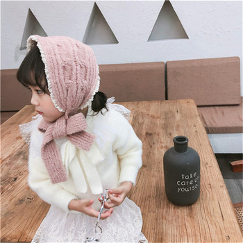 Korean Knit Head Scarf – Pink