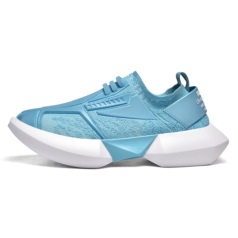 IGxx Men Sneakers For Men Future 350 V2 TPU Buffer Outdoor Mesh Athletic Breathable Male Transformer Shoes Running Tenis Blue