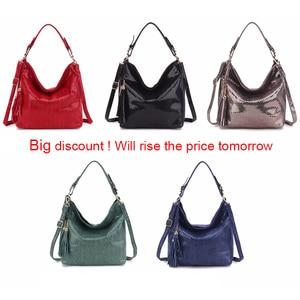 Image 5 - Gold Fashion Women Leather Handbags Female Shoulder Bag Ladies Hand Bags Purses and Handbags Large Crossbody Bag for Women 2020