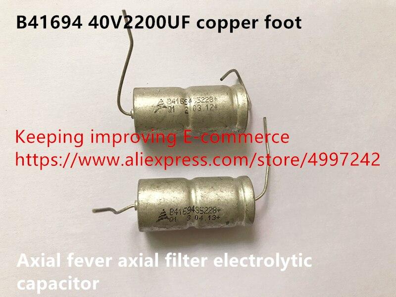 40V2200uF axial capacitance Aluminum Electrolytic Capacitors