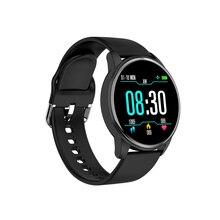 Smart Bracelet Blood Pressure Measurement Fitness Tracking Bluetooth Watch Waterproof Heart Rate Monitor Pedometer Men SmartBand x9 bluetooth 4 0 heart rate monitor smartband tpu strap black