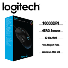 Mouse G403/g403hero-Gaming-Mouse RGB/HERO Chrome-Os Original 6 1 Wired with 16000DPI