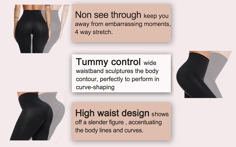 High Waist Tummy Control Legging