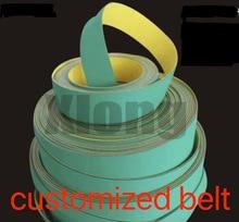 2820x102x2mm Nylon Chip Base Band Textile Flat Belt Conveyor Transmission Timing Belt