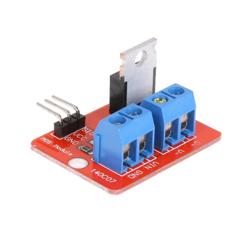 5pcs IRF520 MOS Driver Module PWM Dimmer For MCU ARM Raspberry Pi 0-24V IRF520 Top Mosfet Button PWM Dimming For Arduino