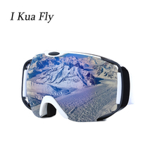 Winter Ski Goggles Snow Glasses Double Case Men Women Anti-fog Coatings Skateboard Snowboard Skiing Sunglasses Outdoor Sport z4