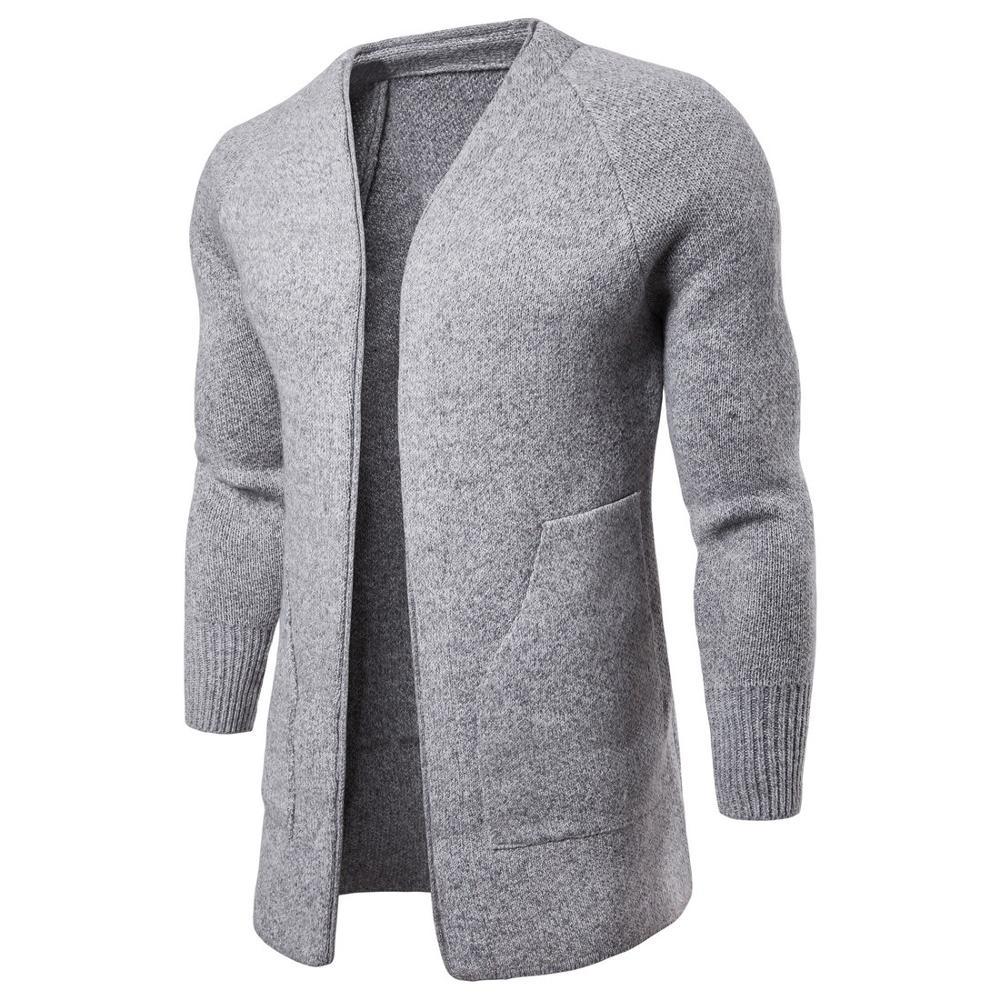 Casual Men's Sweater  Slim Fit Knittwear Man Sweaters