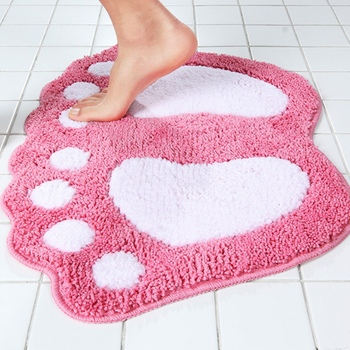 Multi Colors Floor Mat Home Living Room Mat Toilet Rug Decor Cheap Bathroom Carpet Feet Printed Tapetes Washable Bath Mats