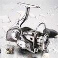 GLS1000-6000 12 + 1BB металлическая Рыболовная катушка спиннинговое колесо морские длинные морские кадры водонепроницаемая рыболовная катушка для ...