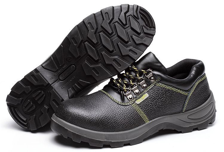 Currently Available Supply Safety Shoes Protective Shoes Pu Mold Plastics Smashing Stab Anti-static Oil Resistant