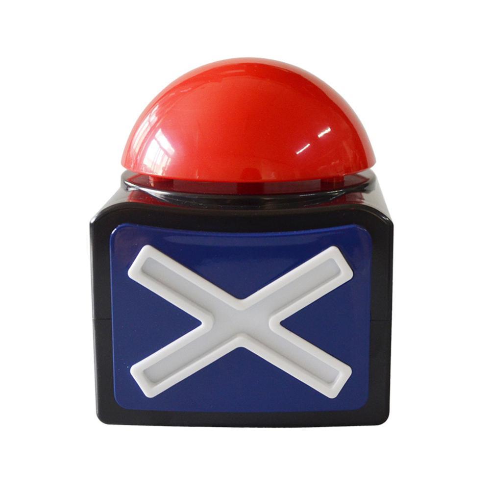 Игра ответ зуммеры кнопки сигнализации со звуком светильник забавные вечерние конкурс викторины кнопка ответа реквизит игрового шоу зумме...