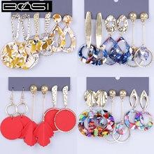 Набор акриловых серег bosi модные ювелирные изделия комплект