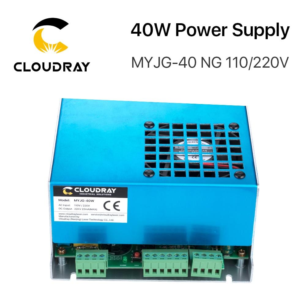 Alimentatore laser a CO2 Cloudray 40W MYJG-40T 110V 220V per macchina - Parti di macchine per la lavorazione del legno - Fotografia 4