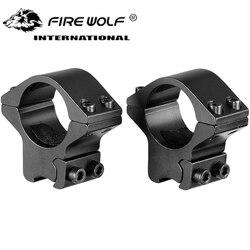 2 uds Rifle táctico bajo perfil 25,4mm 1
