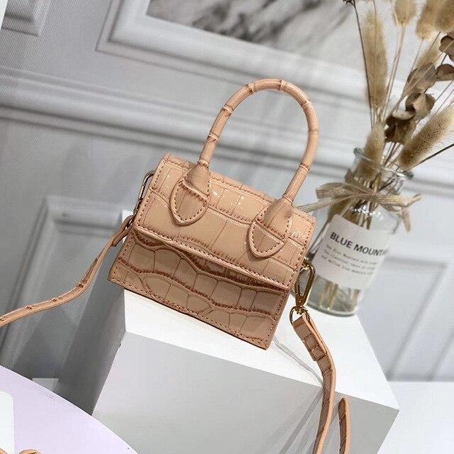 Mini Crocodile Pattern Shoulder Bags 2