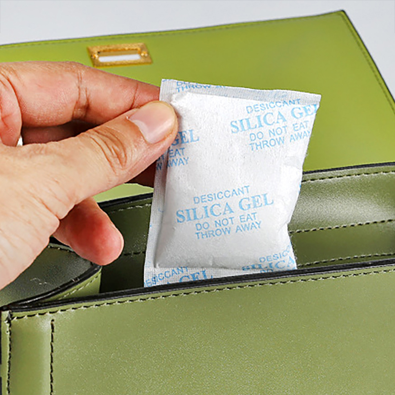 5pcs/lot 20g Silica Gel Packets Moisture Absorber Non-Toxic Reusable Silicagel Packs Absorbant Dehumidifier Dry Desiccant Bag