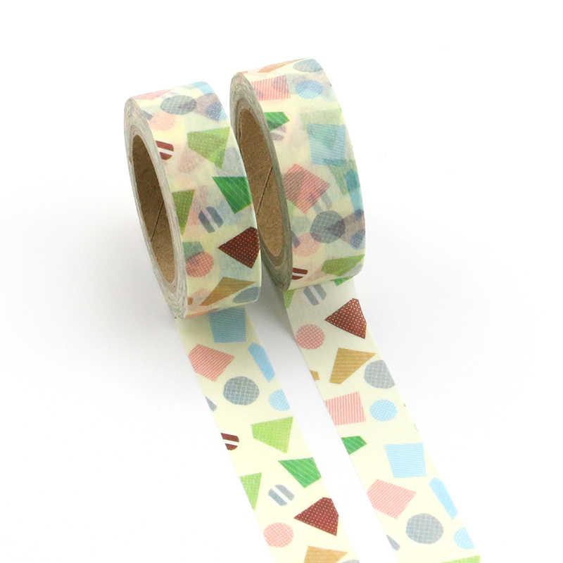 B173-B197 Bunga Lucu Makanan Hewan Dekoratif Washi Tape Diy Scrapbooking Masking Tape Sekolah Kantor Pasokan