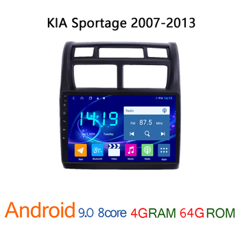 4G RAM 64G ROM car radio for KIA Sportage 2007 2013 autoradio android coche audio DVD multimedia player GPS navigator auto atoto image