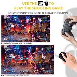 Image 4 - Los datos de la rana PUBG móvil juegos por cable de teclado conversor de ratón para PS4 Xbox one/360 Nintendo interruptor PS3 consola/Android SISTEMA DE
