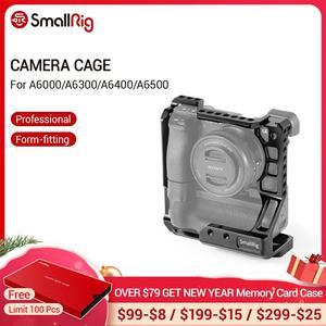 Image 1 - Cage pour appareil photo DSLR small rig pour Sony A6000/A6300/A6500 avec appareil photo Meike MK A6300/A6500 avec Kit de Cage de poignée de batterie 2268