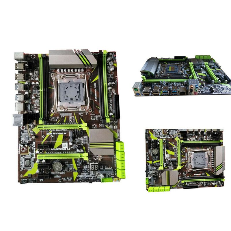 X99 LGA2011-V3 Professional 4 Channel DDR4 Desktop Computer Motherboard Module X6HA