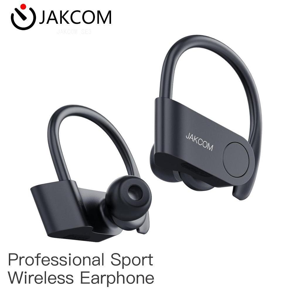 JAKCOM SE3 Sport auriculares inalámbricos para hombres y mujeres t5 carcasa spinfit casco zapatos galaxy buds plus pro fundas